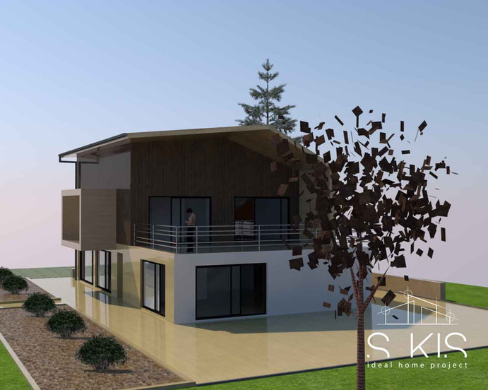 Rénovation et transformation d'une maison unifamiliale