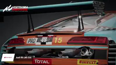 La 24H Mike Wild R8 LMS prête pour la compétition numérique