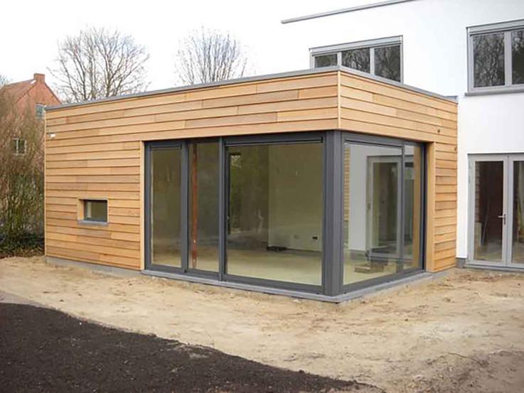 Extension blocs et bois ajourés