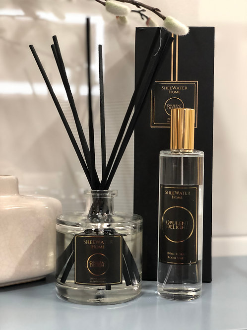Opulent Delight Luxury Reed Diffuser and Room Spritz