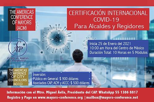 Certificado Internacional Covid-19