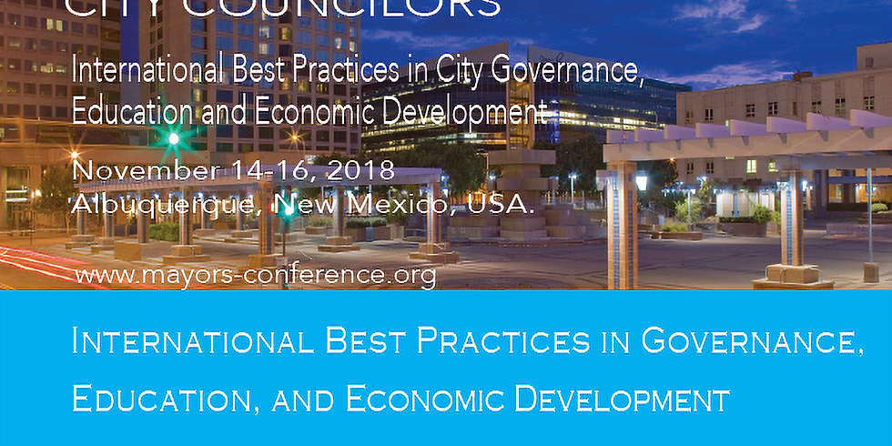The Americans Conference of Mayors | The Inaugural Conference of City Councilors 2018.