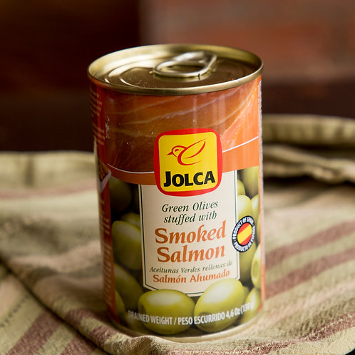 Jolca Green Olives Stuffed With Smoked Salmon