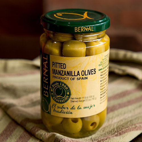 Bernal Pitted Manzanilla Olives