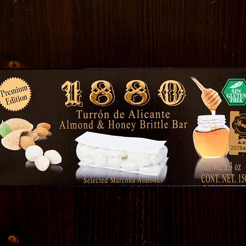 1880  Almond Honey Brittle Turron de Alicante