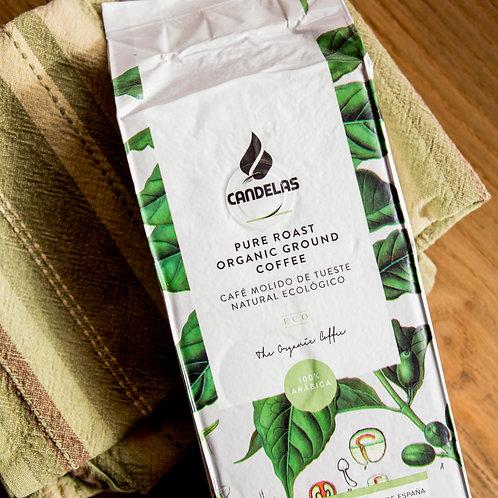 Candelas Pure Roast Organic Ground Coffee