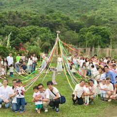 Celebrating festival together in our nat
