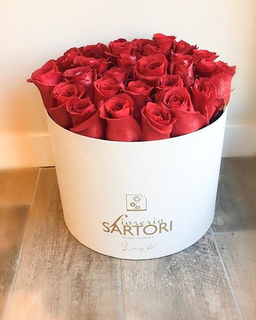 Luxury Box Rose Fresche
