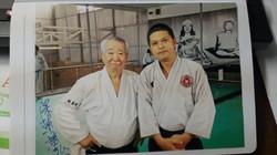 với Thầy Fukakusa- 4/2016