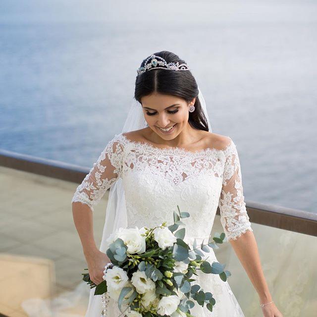 Se preparando pra noiva de hj e anda babando na noiva do sábado passado! 😍❤️