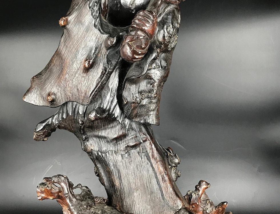 Magnifique sculpture Guan Yin, Chine, XIXème