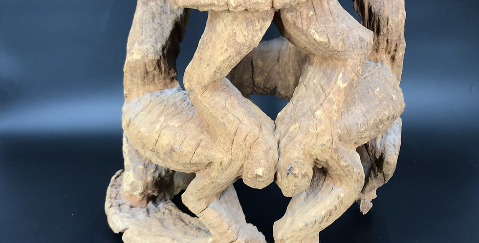 Ancien TABOURET BAMOUN du CAMEROUN