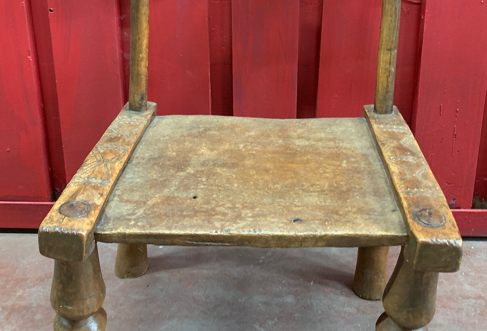 Ancienne Chaise Baoulé, Côte d'Ivoire