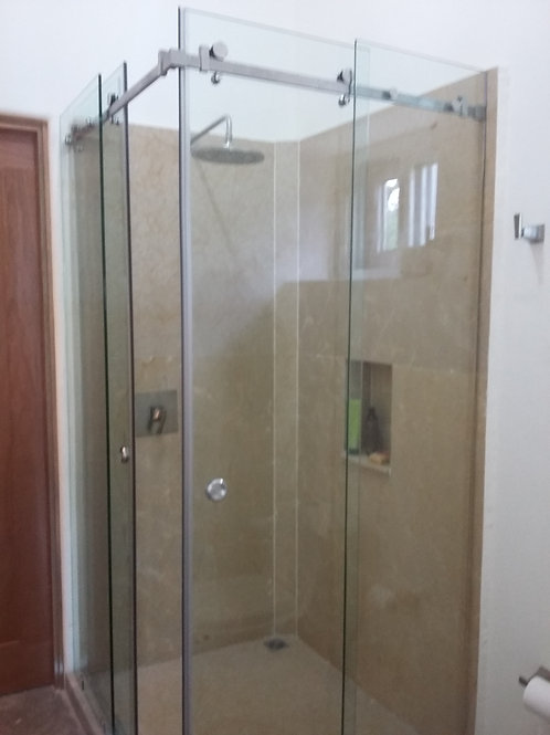 Corner Frameless Shower Door