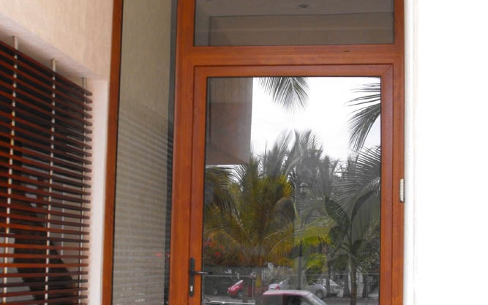 puerta practicable pvc 10