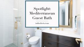 Spotlight: Mediterranean Guest Bath