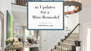 10 Updates for a Mini-Remodel