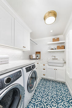 Farmhouse laundry remodel