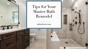 Tips for Your Master Bath Remodel