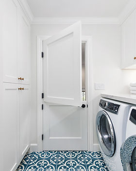 Farmhouse laundry room remodel