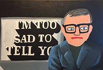 Portrait of Martin Sexton (too sad to tell you)