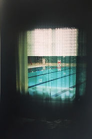 Pool Through Window