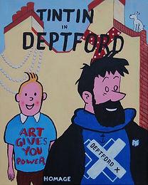 TinTin in Deptford