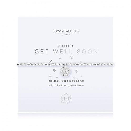 Joma Jewellery- 'a little... Get Well Soon' Bracelet