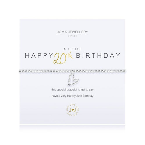 Joma Jewellery 'A little...Happy 20th Birthday'