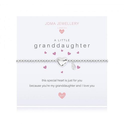 Joma Jewellery-'a little...Granddaughter' Girls Bracelet