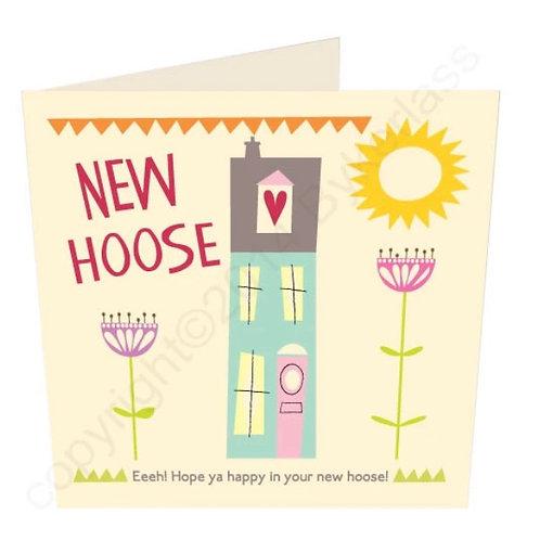 New Hoose - Geordie Card by Wotmalike