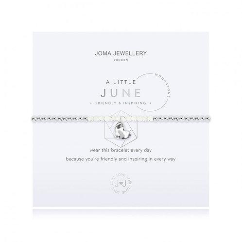Joma Jewellery June-'a little' Birthstone- Moonstone