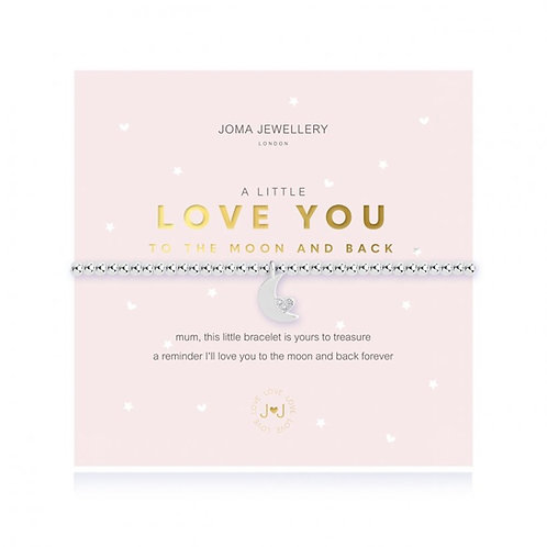Joma Jewellery- 'a little... Love You to the Moon and Back' Mum