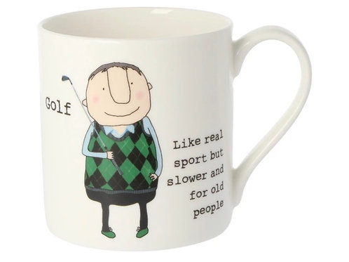 Rosie Made a Thing - 'Golf' Mug