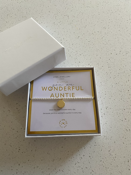 You are a Wonderful Auntie-Beautifully Boxed 'a littles'