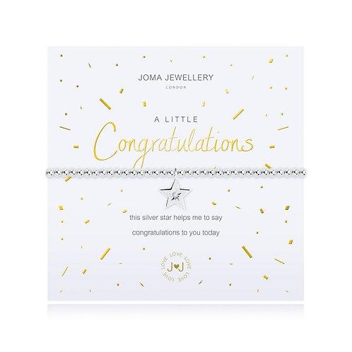 Joma Jewellery 'A little...Congratulations'