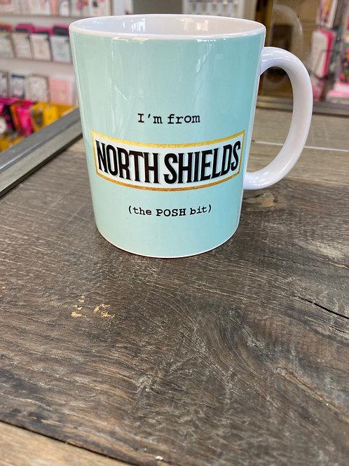 The POSH Bit Mug- North Shields