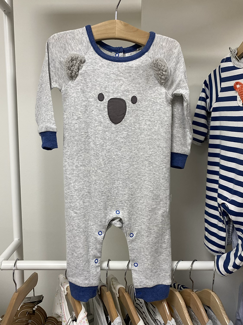Albetta Koala Babygro- Grey