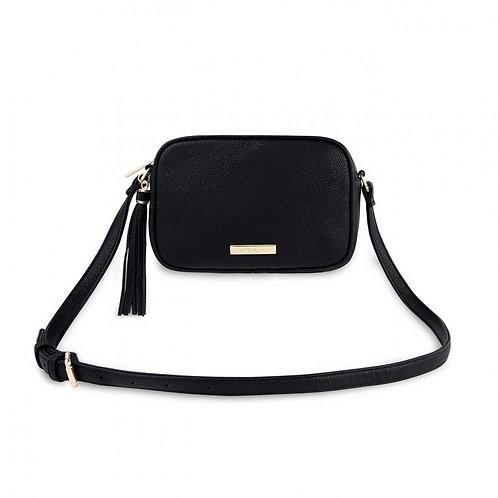 Katie Loxton Sophia Tassel Crossbody Bag - Black