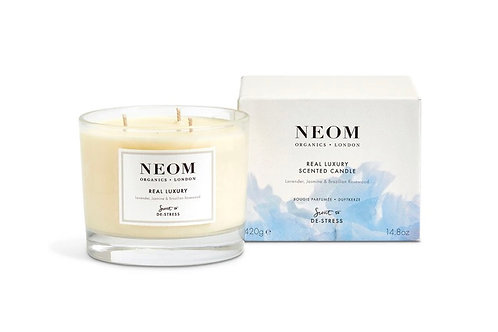 Neom Real Luxury Scented Candle- 3-wick