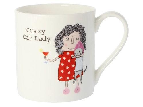 Rosie Made a Thing- 'Crazy Cat Lady' Mug