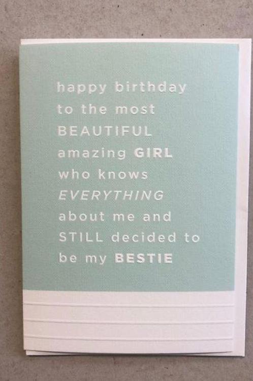Megan Claire - Birthday