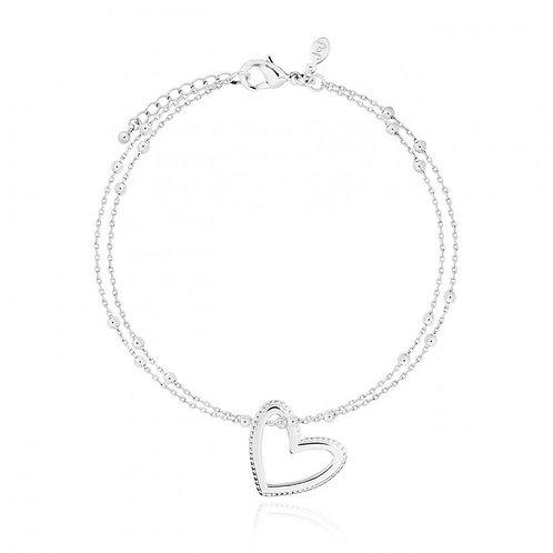 Joma Jewellery Aurora Heart Bracelet