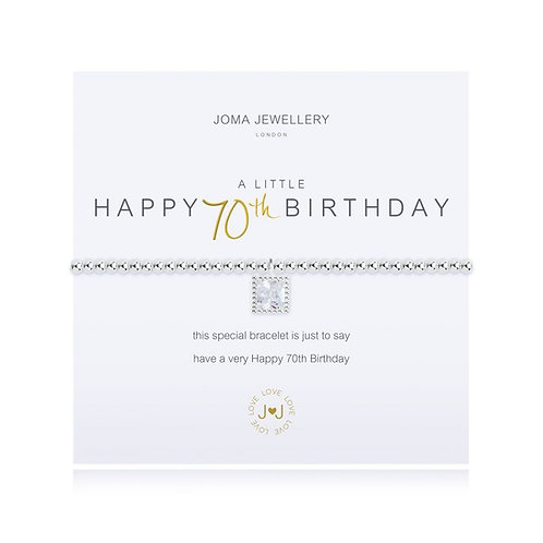 Joma Jewellery 'A little... Happy 70th Birthday'