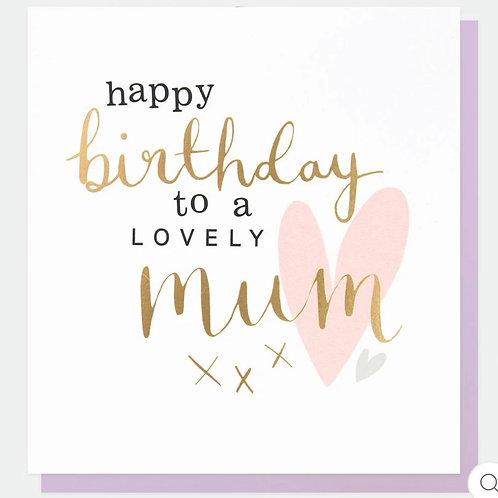 Caroline Gardner -Birthday Mum