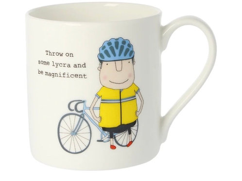 Rosie Made a Thing-'Throw on some Lycra and be Magnificent' Mug