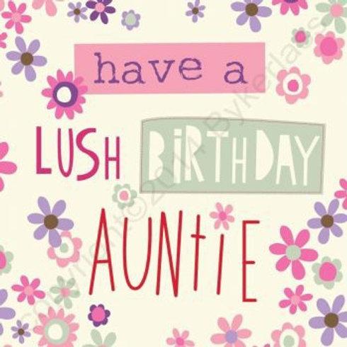 Geordie Cards - Auntie