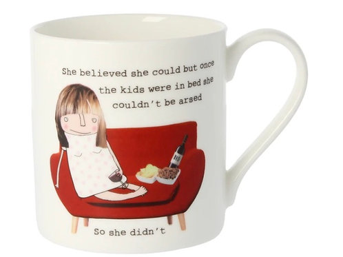 Rosie Made a Thing- 'She Believed She Could' Mug
