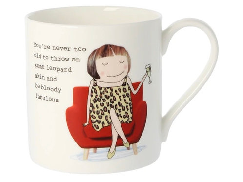 Rosie Made a Thing- 'Throw on some Leopard Skin' Mug