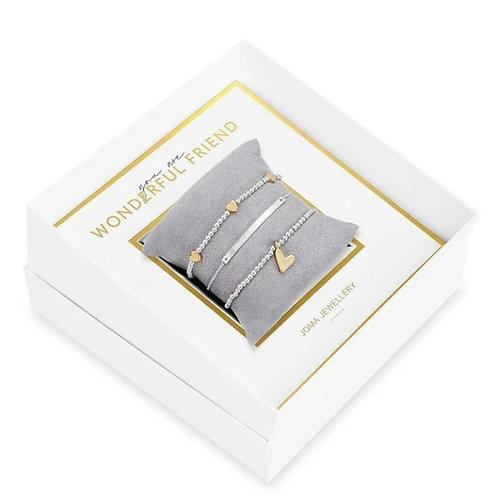 Wonderful Friend Occasion Gift Box- Joma Jewellery
